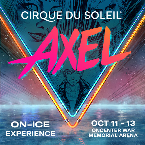 """Win two tickets to Cirque Du Soleil """"AXEL"""" at War Memorial on Oct. 11, 2019 at 7:30 p.m."""