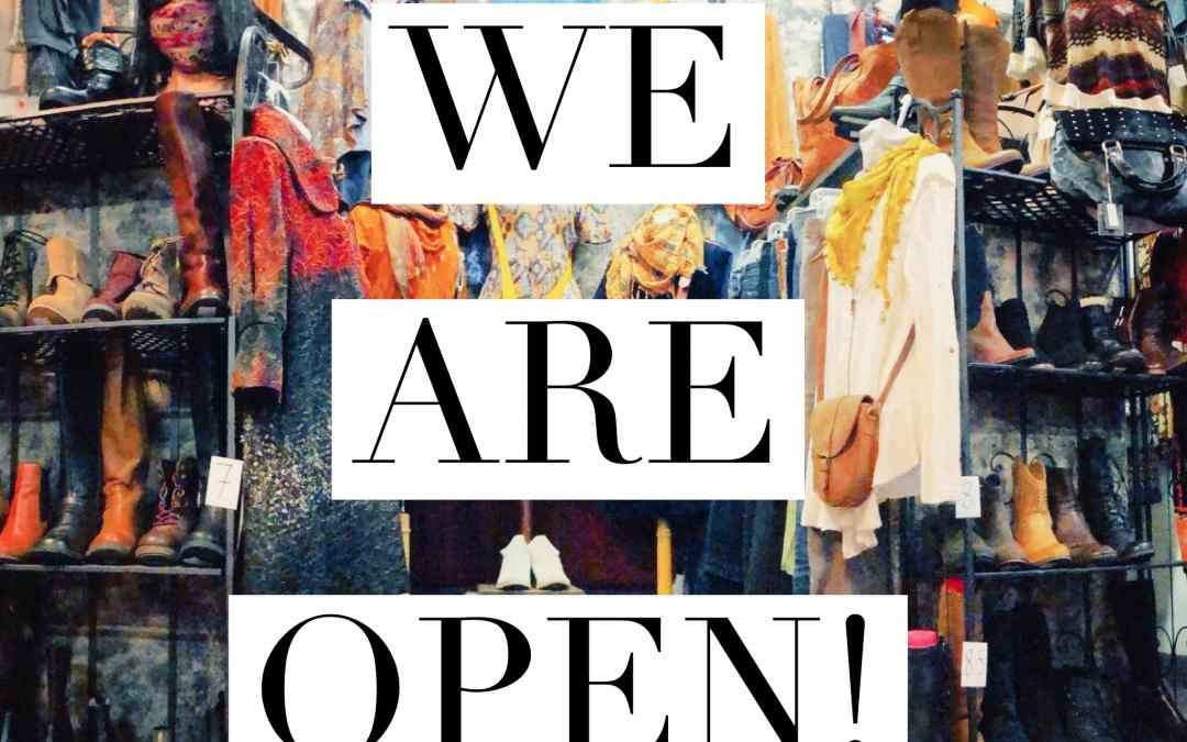 EcoChic is OPEN!