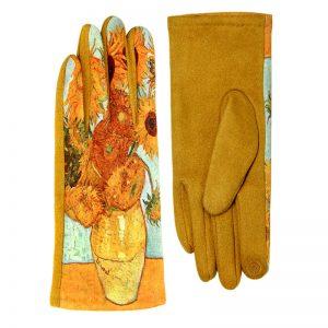 Sunflower Fleece-Lined Smart Gloves