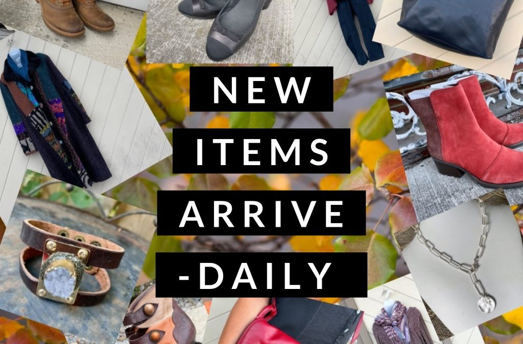 Fall and Winter Inventory Arriving Daily!